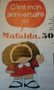 Mafalda fête ses 50 ans
