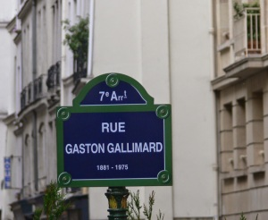 Gaston-Gallimard plaque rue