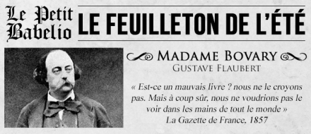le feuilleton de l'été_madame bovary