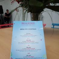 La carte des cocktails